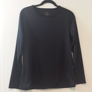 Cuddl duds stay warm womens  workout top  size L